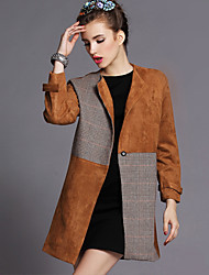 Smile Partner Women's Fashion Tweed Suit Coat