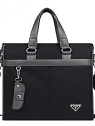 nylon moda casual bolsa de ordenador portátil bandolera messenge totalizador hombres del maletín