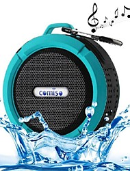 C6 Mini Portable IPX5 Waterproof Bathroom Hang Hook Wireless Bluetooth Speaker Supports Handsfree Functions