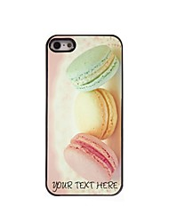 Personalized Phone Case - Bread Design Metal Case for iPhone 5/5S