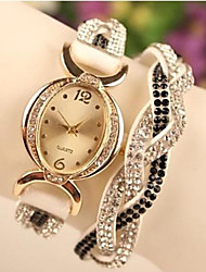 GoGo Fashion  All Match  PU Alloy Watch