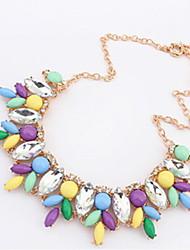 Lusa Contrast Color Necklace