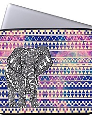 """Elonbo Tribal Stripe and Elephant 15"""" Laptop Waterproof Sleeve Case for Macbook Pro Retina Dell HP Acer"""