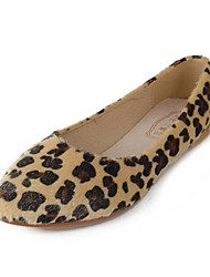 Women's Shoes Pointed Toe Flat Heel Flats with Animal Print   Shoes More Colors available