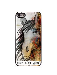 Personalized Phone Case - The Horse Design Metal Case for iPhone 5/5S