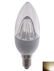 Lampandine a candela 10 SMD 2835 E14 3 W 330 LM 2700K K Bianco caldo 2 pezzi AC 100-240 V