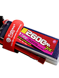 Kudian RC Battery 70C 2600mAh T Plug 2S