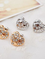 Sell Well Alloy  Rhinestone Fashion Earrings(More Color)