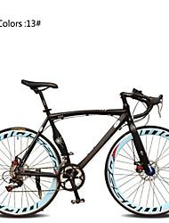 Bicicletas de estrada Ciclismo 7 Velocidade 26 polegadas/700CC 60 milímetros Unissex / Masculino / Mulheres SHIMANO TX30Freio a Disco