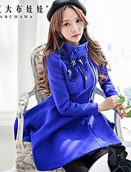 Pink Doll® Women's Floral Tweed Elegant OL Swing Slim Coat