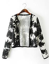 Women's Black Jackets , Casual Long Sleeve