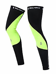 Leg Warmers/Knee Warmers Bike Breathable Thermal / Warm Windproof Moisture Permeability Unisex Spandex Polyester Wool Fabric Fleece