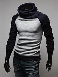 SPORTSTREET Men's Fashion High Neck Sweater