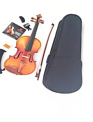 Maple ZaoMu Accessories + Tiger Stripes Violin Shoulder+ Strings + Tuner +  Mute + Rosin +  Bow+ Box