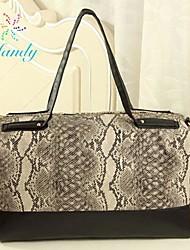 Mandy Women'S Fashion Design Serpentine Printing Bag