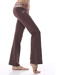 Yokaland ® Yoga Pantalones Transpirable / Secado rápido / Capilaridad Eslático Ropa deportiva Yoga / Pilates / Fitness Mujer