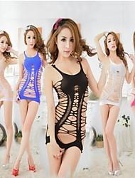 maille sexy vêtements de nuit couleur de bonbons des femmes