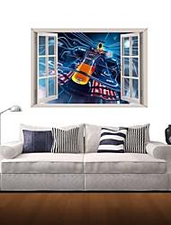 Adesivos de parede adesivos de parede 3d, parede decoração de casa adesivos de vinil de esportes