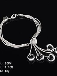 Stylish Sterling Silver  Women's Bracelet