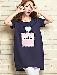 sanfenzise ™ Impression sur t-shirt loose des femmes (plus de couleurs)
