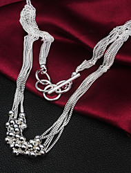 2016 Hot Noble Exaggeration Body Vintage Casual Sterling Silver Statement Necklace