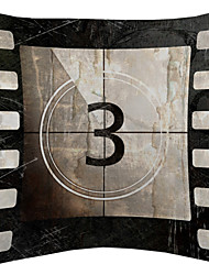 Cinematic Scene No.3 Velvet Decorative Pillow Cover