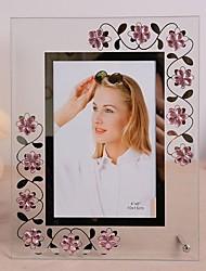 simples foto cristal frame-set de 2 (estilos aleatórias)
