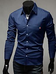Sherman Men's Luxurious Fashion Long Sleeve Shirt