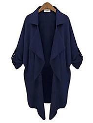 De zha.mi vrouwen europese mode elegant goedkope jas