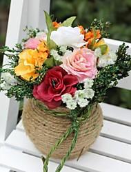 décoration de mariage coloré décoration florale artificielle décoration de la maison