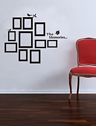 Wall Stickers Wall Decals, Photo Frame PVC Wall Sticker