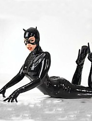 Cosplay Costumes / Party Costume Black Patent Leather Sexy  Cat Gilr Costumes Women Halloween Costumes Halloween/Christmas/New Year