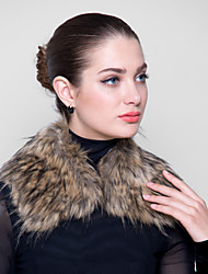 Fur Wraps Faux Fox Square Collar Fur Wraps