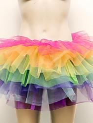 plusieurs jupes tutu colorés sexy spectacles ds dansent costume de carnaval de la jupe
