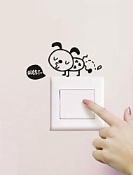 Bathroom Sticker Wall Stickers Wall Decals, Ant Light Switch Sticker Toilet Sticker Bathroom Sticker