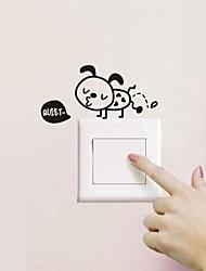 Ванная комната наклейка наклейки наклейки для стен, муравей выключатель света стикер туалет стикер ванная комната наклейка