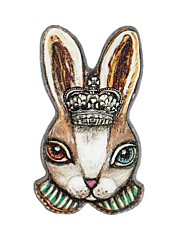 Women's Vintage Rabbit Brooch