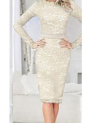 vestido de encaje elegante de las mujeres y.j.z