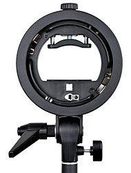 GODOX S Type Speedlite Bracket S-EC with Elinchrom Mount for Speedlite Flash Softbox Snoot