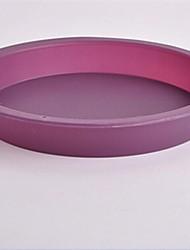 Circular Shape Cake Chocolate Molds,Silicone 22.5×3.5×2 CM(8.9×1.4×0.8 INCH)