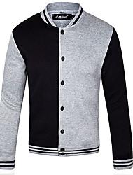 ocasional casaco gola masculina SIMOO