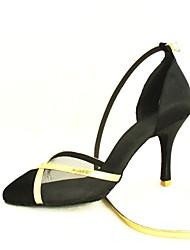 Zapatos de baile (Negro/Azul/Amarillo/Rosado/Morado/Rojo/Blanco/Fucsia) - Moderno/Zapatos Estándar - Personalizados -Tacón