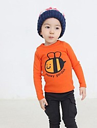 Boy's Cotton Tee,Winter / Spring / Fall Solid