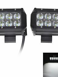"""kawell 2 Stück 18w 4 """"CREE LED für atv / Boot / Geländewagen / LKW / PKW / Geländefahrzeuge leuchten off road wasserdichte LED-Spot-Arbeitslicht."""
