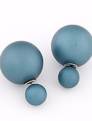 European Style Beads Wild Temperament Simple Earrings(More Colors)