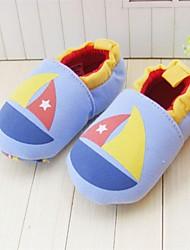baby schoenen ronde neus platte hak loafers met slip-on schoenen