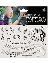 Fashion Temporary Tattoo Body Art Waterproof Stickers Safe Removable Multi Style  021