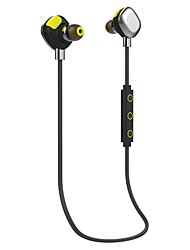 Morul U5 headphone BluetoothV4.1 In Ear Canal  smart sports App&NFC HI-FI  For Phones-BLACK