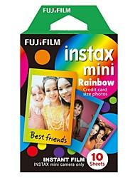 Fujifilm Instax mini-filme colorido instantâneo - rainbow