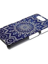 Flower Pattern PC Hard Case and Phone Holder for Sony Xperia Z3 Compact/Z3 mini